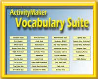 ActivityMaker Vocabulary Suite